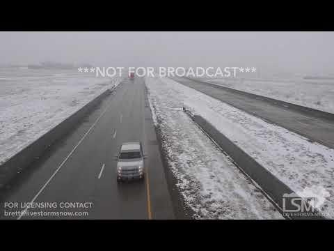 02-18-2018 Brigham City, UT - Heavy Snow Hazardous Driving
