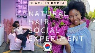 black in korea natural hair reaction