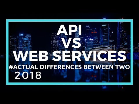 API Explained | Difference between API and...