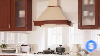 Кухонная вытяжка ELEYUS TEMPO LED SMD - видео обзор рустикальной вытяжки