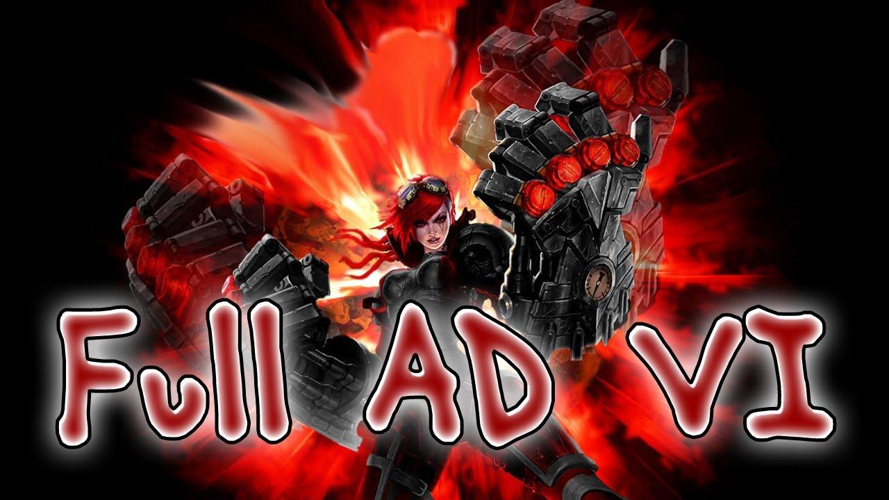 Clip LoL Hot : Vi lên đồ Full AD sức mạnh khủng khiếp