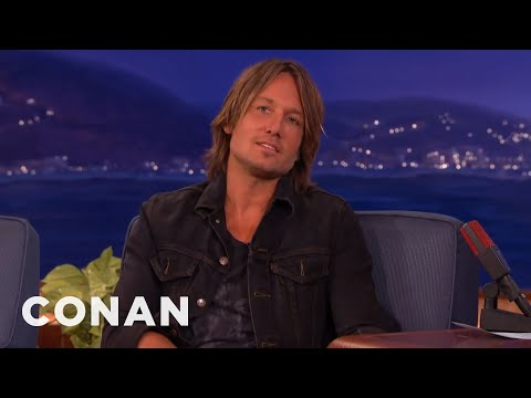 Keith Urban Was A Talent Show Contestant  - CONAN on TBS