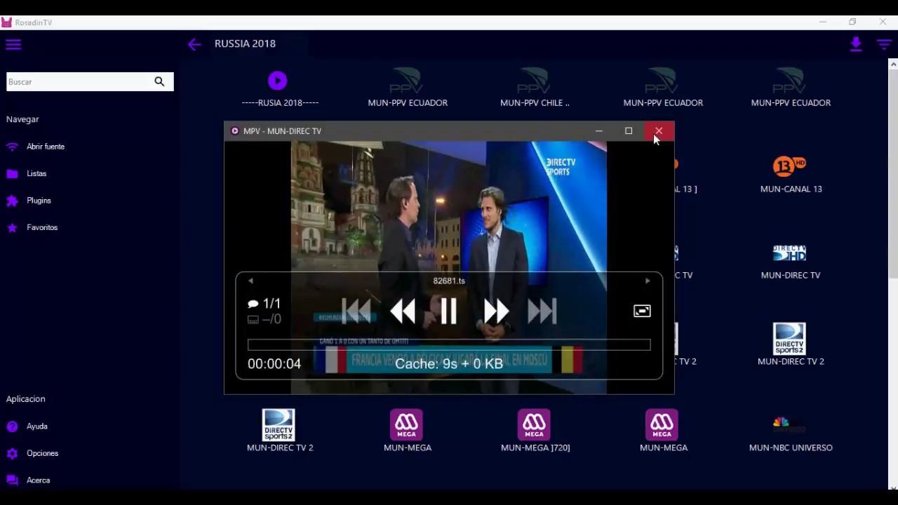 rosadin tv pc