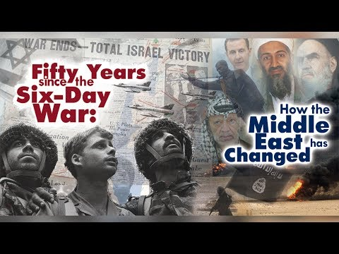 Fifty Years since the Six day War: How the Middle East has changed - Prof. Asher Susser