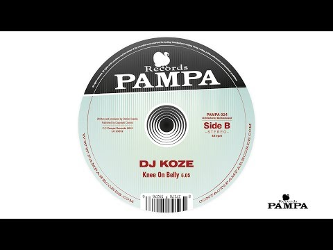Dj Koze - Knee On Belly (PAMPA024)