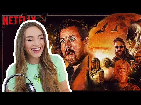 WHAT TO WATCH IF YOU HATE HORROR FILMS (Hubie Halloween Trailer Reaction) | Kirstie Bryce