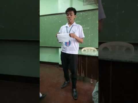 Spoken Poetry ( 10 - J. Rizal ) - Group 6