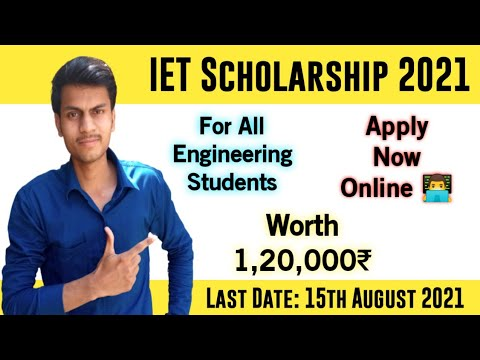 Scholarship for Engineering Students 2021 🎓🎓    Worth 1,20,000 ₹    Apply Online 🔔🔔