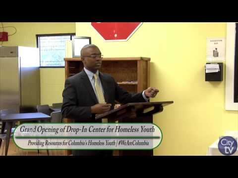 Grand Opening of the Drop-In Center for Homeless Youth