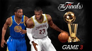 NBA 2K14 PC 2017 Finals Updated Rosters │Cavaliers vs Warriors│Game 3│ ESPN MOD HD