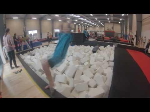 Helsinge springhal. Gymnastic manus nr. 2
