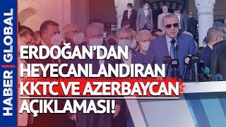 Erdoğan'dan Kıbrıs'ta Flaş Mesaj!