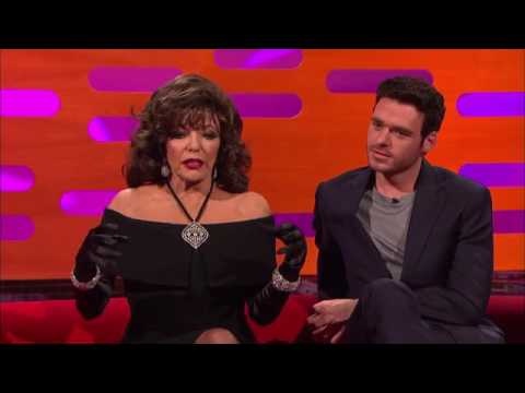 The Graham Norton Show S19E05 Joan Collins, Richard Madden, Lily James, Paul Hollywood   YouTube