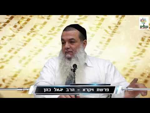 """חידושים מרתקים לפרשת ויקרא עם הרב יגאל כהן שליט""""א"""
