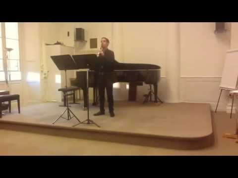 Béla Kovacs. Hommage à Richard Strauss - Andrea Fallico clarinet solo