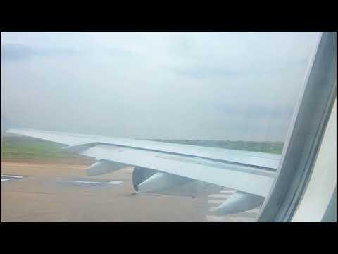 Air France A340-300 - Takeoff flight AF306 Niamey (NIM) to Lomé (LFW)