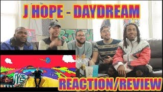 Cover images J-HOPE 'DAYDREAM (백일몽)' MV REACTION/REVIEW