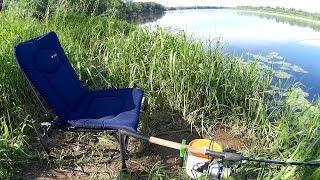 Cтул-Кресло для Фидерной Рыбалки F2 CUZO method - Тест-Обзор