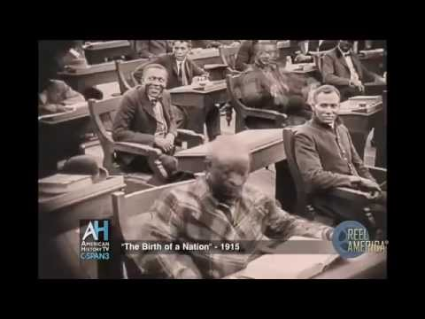 """1915 Film """"The Birth of a Nation"""" Clip"""