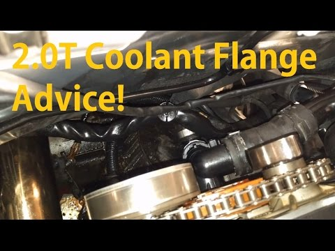 audi a4 b7 2 0t coolant flange tips! youtubeaudi a4 b7 2 0t coolant flange tips!
