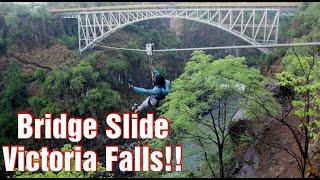 Bridge Slide / Victoria Falls / Zimbabwe
