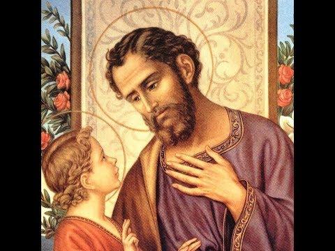 Saint Joseph And The Angels - Angels Of God