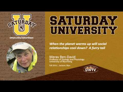 Merav Ben-David at Saturday U: When the planet warms up will social relationships cool down?