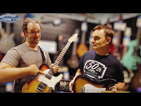 Customised Guitar Challenge - Shred vs Blues