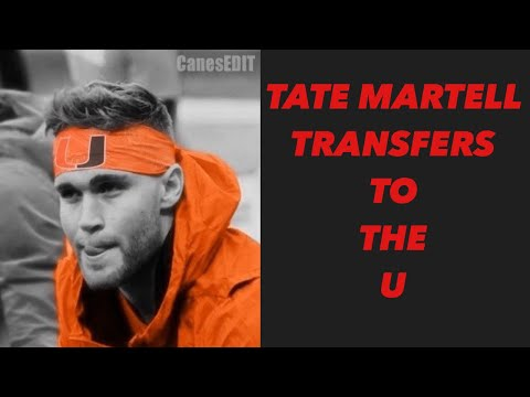 BREAKING NEWS! TATE MARTELL TRANSFERS TO THE MIAMI
