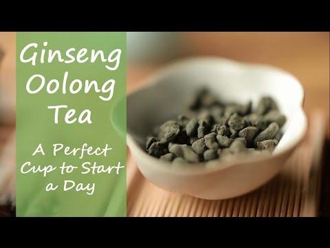 Ginseng Oolong Tea (Wulong Tea) Steeping Guide by Teasenz