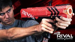 Nerf Rival Apollo! Czy z kulek boli !?! -recenzja PoszukiwaczyFrajdy