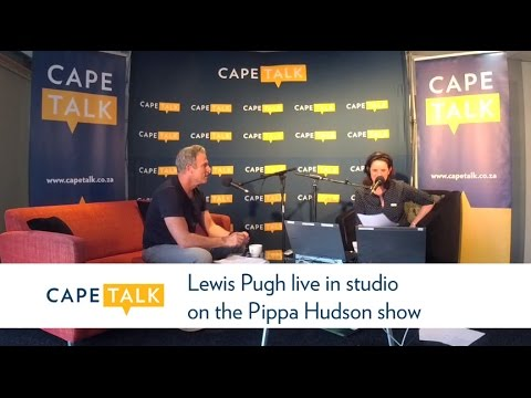 Lewis Pugh in studio on the Pippa Hudson show