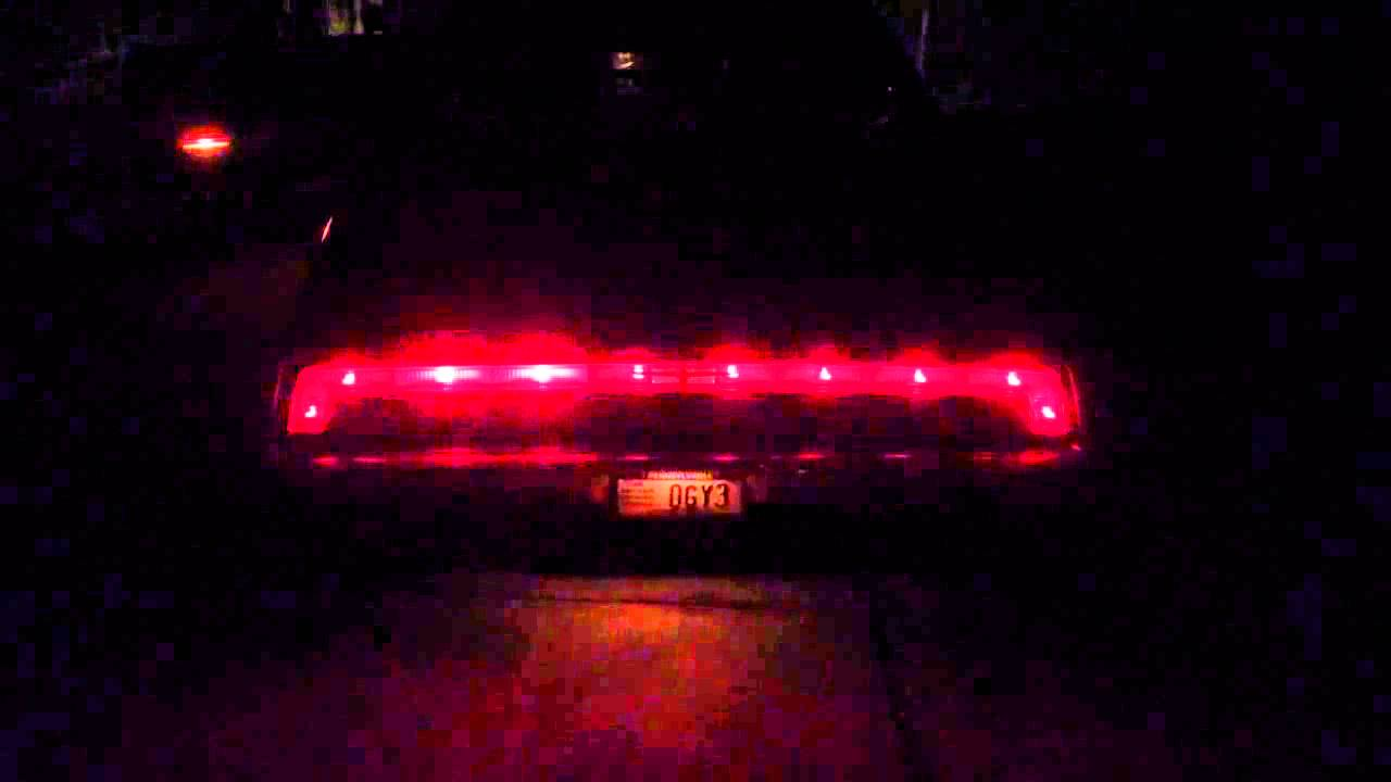 1970 Ford Thunderbird Sequential Turn Signals Youtube 1964 Tail Light