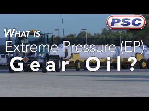 What is Extreme Pressure (EP) Gear Oil?