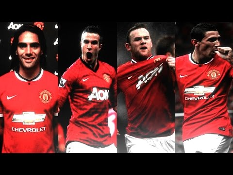 Falcao ● van Persie ● Rooney ● Di María ● The Best Attack of Manchester United