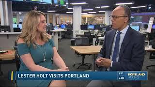 Lester Holt visits Portland