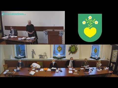 Sesja Rady Miejskiej w Radlinie w dniu 22.12.2020r.