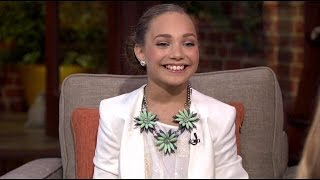"Maddie Ziegler On Good Day LA Talking About Being In Sia's Video ""Chandelier"""