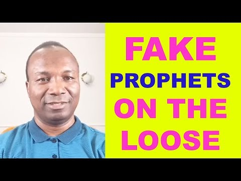 2017-08-20: FAKE PROPHETS ON THE LOOSE