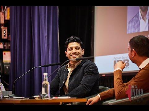 Farhan Akhtar at LSE  In Conversation with Naman Ramachandran  LIF 2017