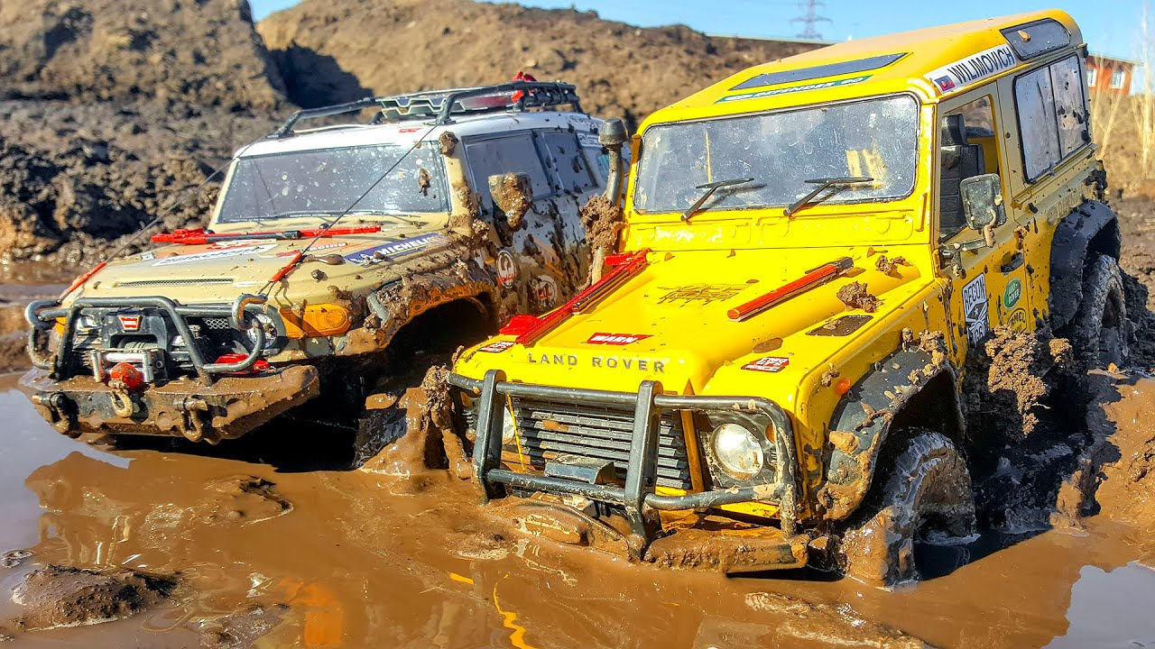 CAR MUD Racing, Water SPA, DownHill – Land Rover, Mercedes, Toyota FJ, Hummer H2 – Wilimovich