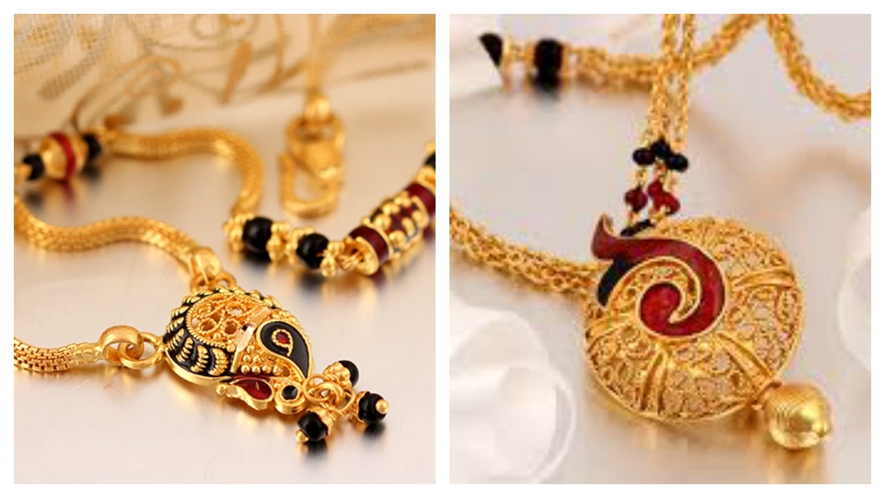 25 Different Types Of Mangalsutra Designs In Gold Best List YouTube