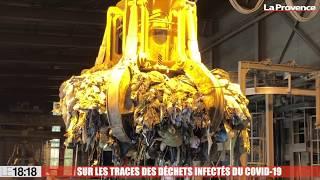 Le 18:18 : gants, masques... Que deviennent les déchets du Covid ? Notre reportage à Vedène