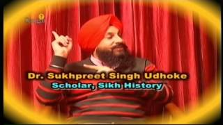 2013 - Dr. Sukhpreet Singh Udhoke abt Sikh History - Gurpreet Singh (Sangat TV)