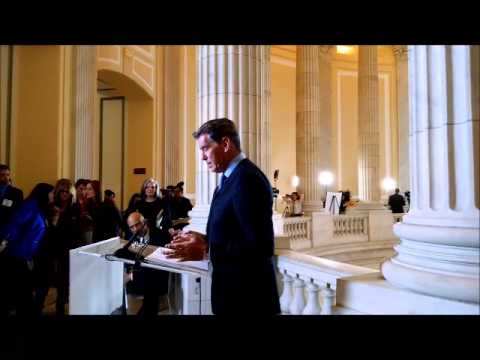 Pierce Brosnan - ACSCAN/SU2C Press Conference -  March 17, 2015