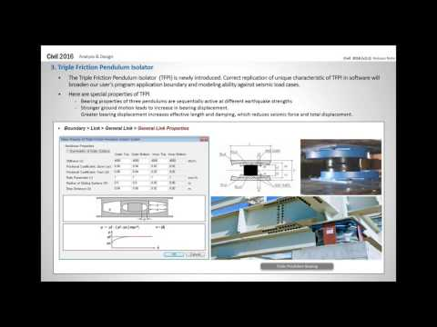[Apr 20] MIDAS Civil 2016 v.2.1 Release Webinar |PSC Composite Girder Design Check and Load Rating