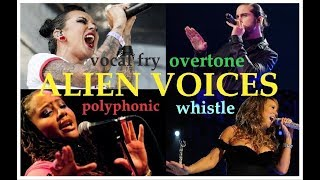 ALIEN VOICES - Female & Male Singers