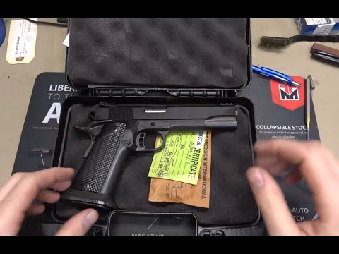 10mm Rock Island Ultra Double Stack 1911 Accuracy Assessment/Teardown