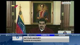 Presidente Nicolás Maduro hará importantes anuncios al país