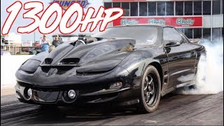 1300HP Firebird Trans Am - The Bullet WS6